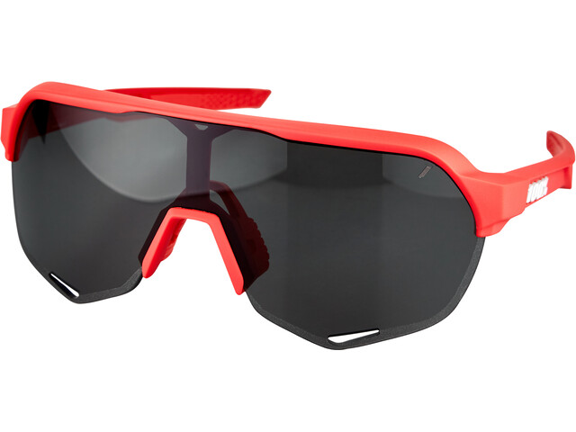 100% S2 Lunettes, soft tact coral/smoke
